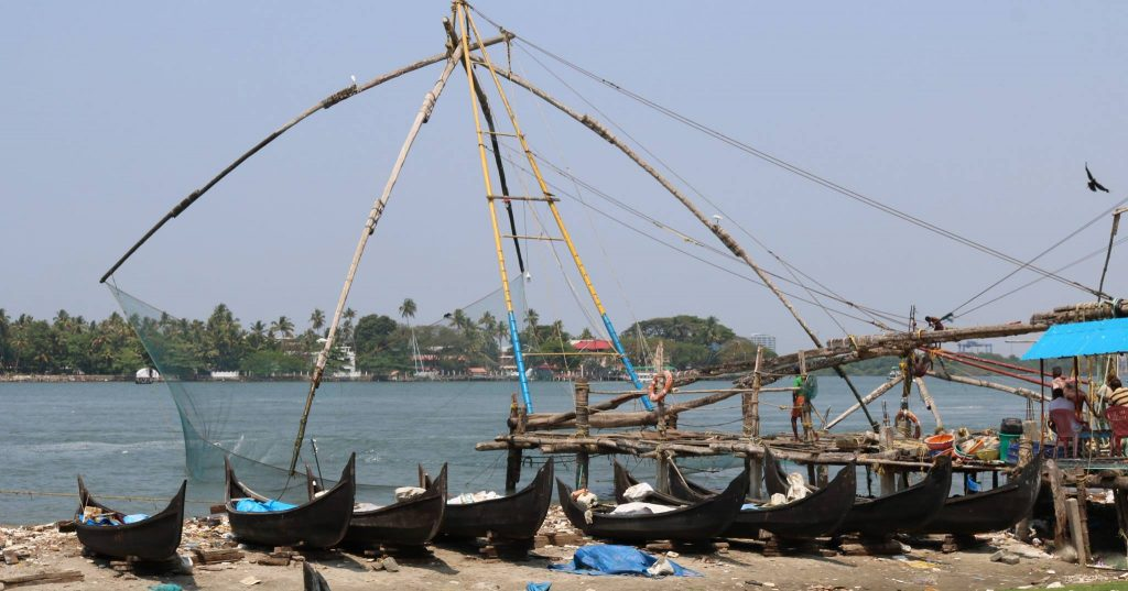 Kerala - Kochi - Fishing Nets